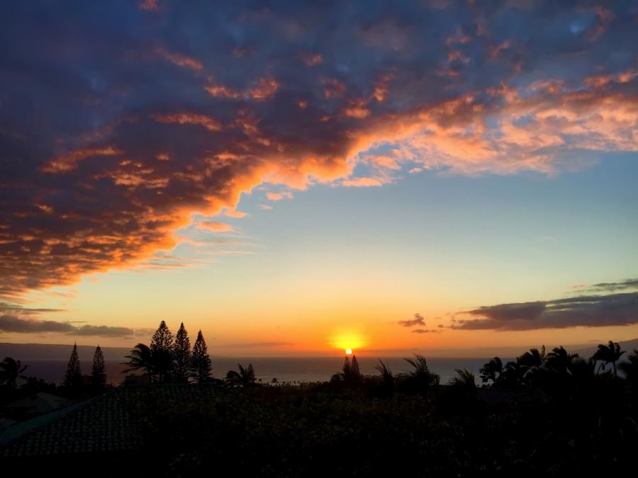 Cloud Wave Sunset